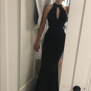 Intermix evening gown